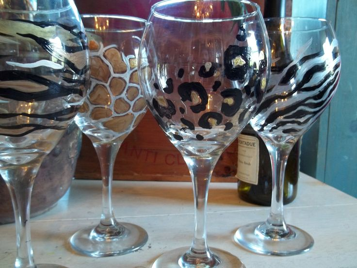 17 best images about cheers diy wine glasses on pinterest for Diy painted wine glasses