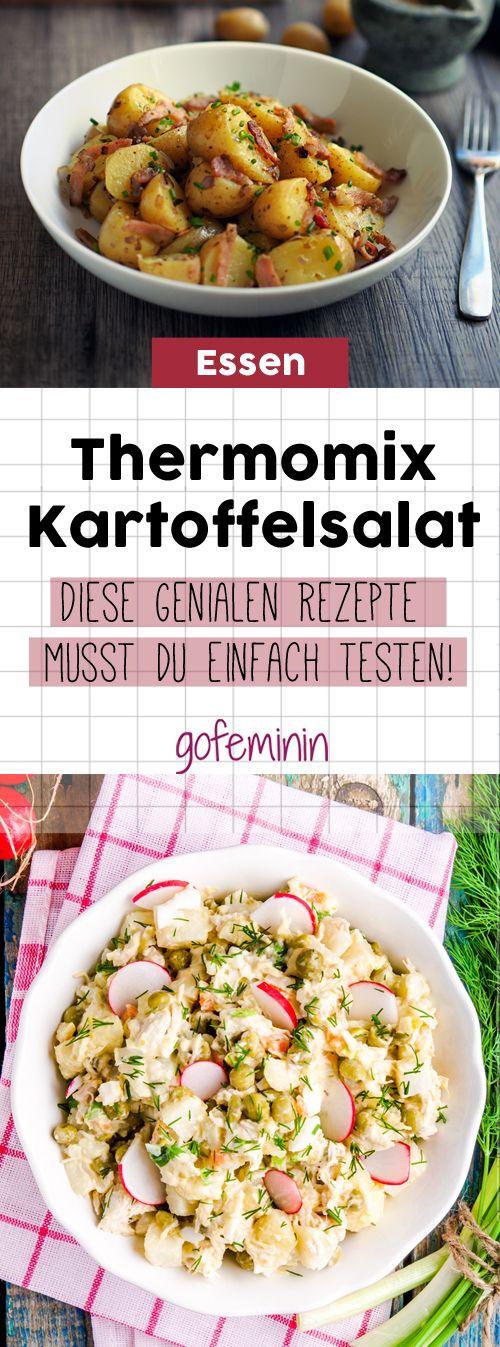 Kartoffelsalat gehört zu den absoluten Klassikern der deutschen Küche. Wir zeigen euch drei leckere Kartoffelsalat-Rezepte, die mit dem Thermomix im Handumdrehen fertig sind.