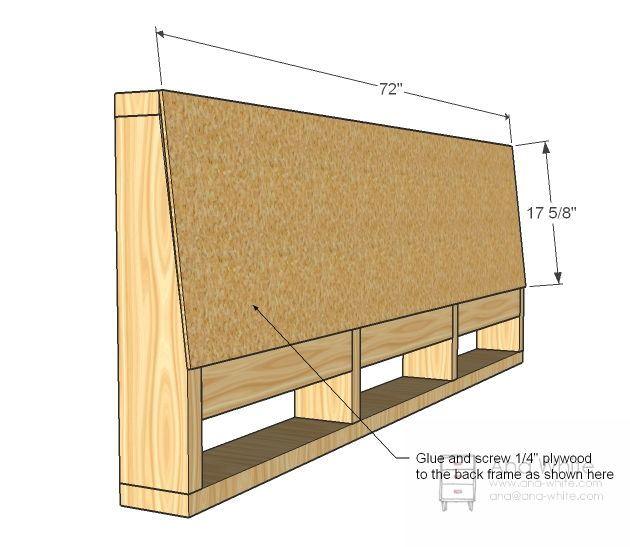 Ana White   Build a Storage Sofa   Free and Easy DIY Project and Furniture Plans
