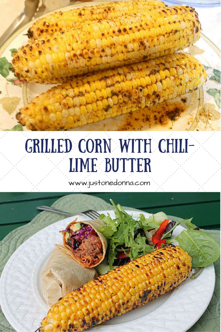 Grill your corn-on-the-cob and you'll never want it any other way. Add ...