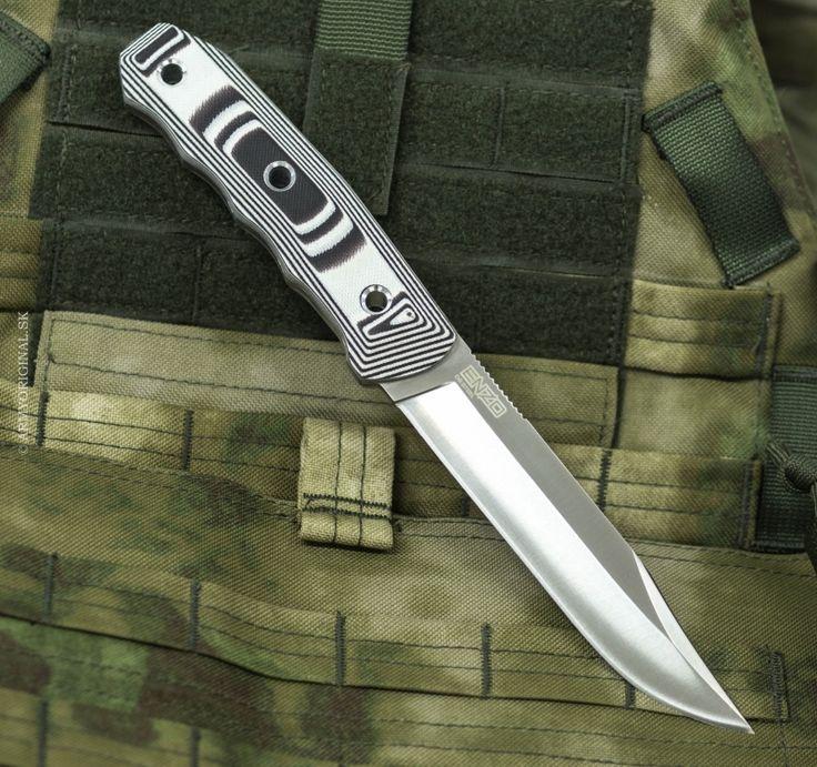 Nôž ENZO D2 Satin, Kizlyar Supreme