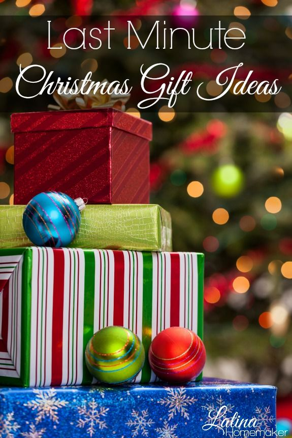 Last Minute Christmas Gift Ideas. A list of gift ideas for everyone on your Christmas list from adults to kids!