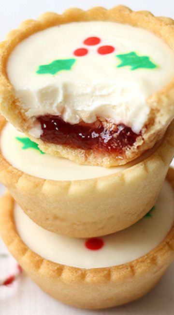 Cheesecake Cookies for a Christmas dessert