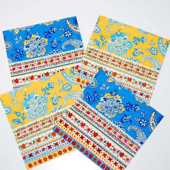 Decoupage French Provence Napkins  Four Paper by craftpapersource, $4.00