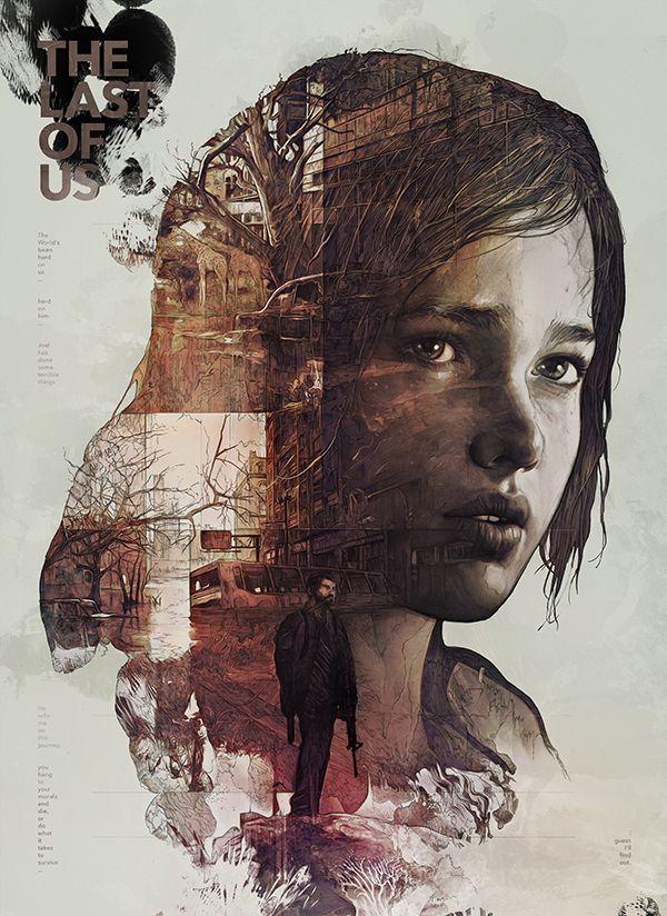 The Last of Us by StudioKxx Krzysztof Domaradzki, via Behance