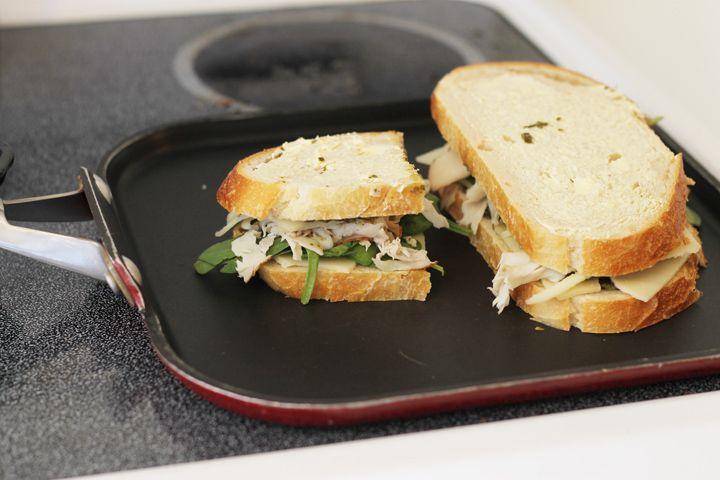 Lunch Favorite: Turkey Pesto Paninis - Thriving Home