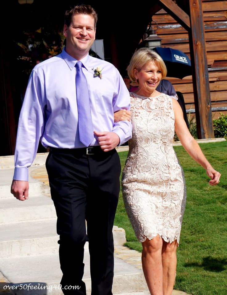 over50feeling40: Casual Country Wedding Style!