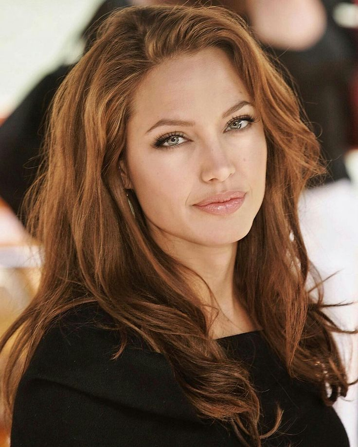 Angelina Jolie. This is one of the best photos that I've seen, of her.