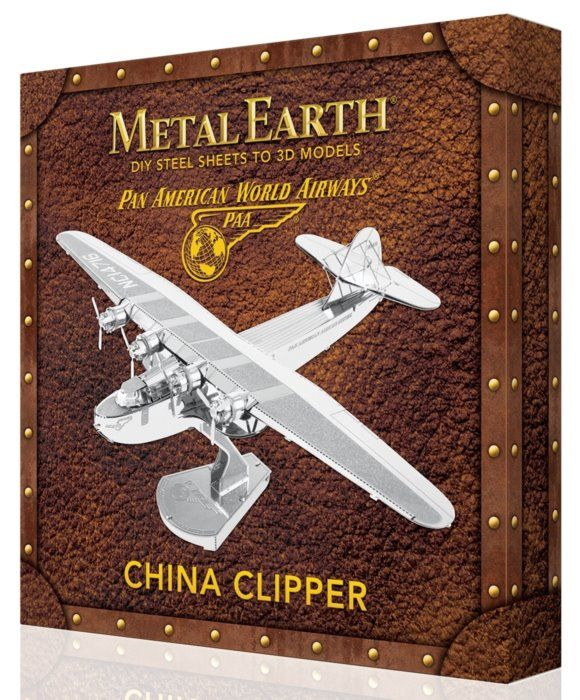 3D kovové puzzle METAL EARTH Pan American World Airways: China Clipper (deluxe set)