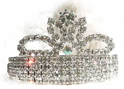 I love this little tiara...and funnily enough, it comes from poppy's store....but no relation to my poppy, but what a coincidence.  Is this a sign that I should get it??