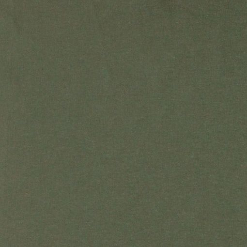Plain cotton dusty green