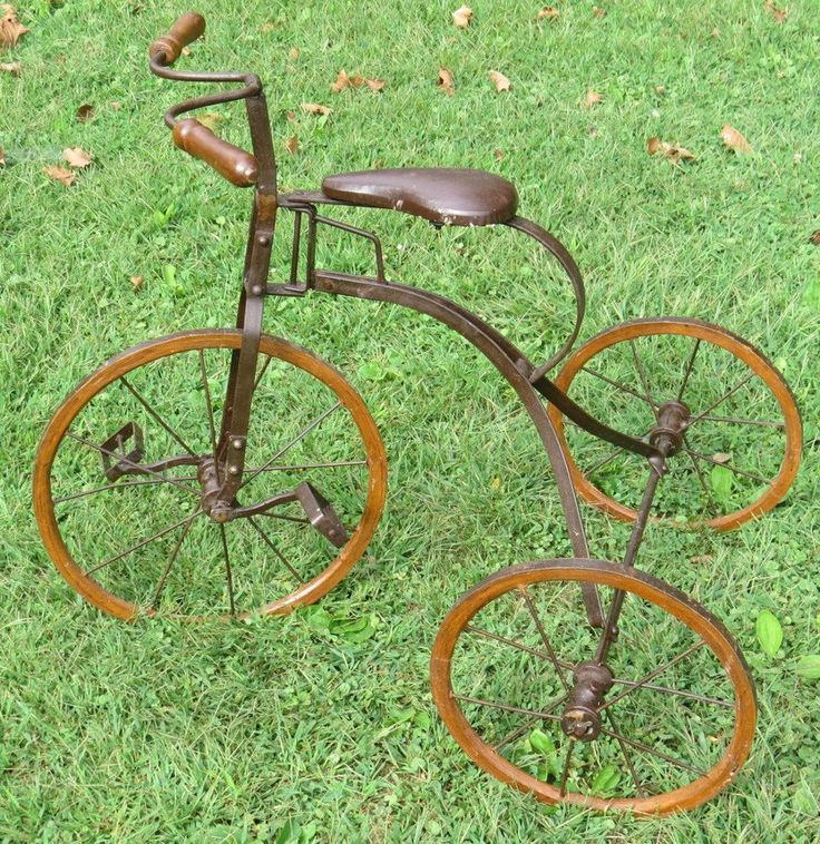 Antique Bikes On Ebay Tricycle Vintage Bike