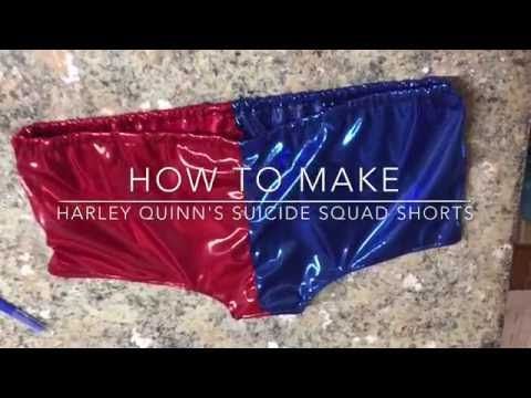 Harley Quinn Suicide Squad costume DIY - YouTube
