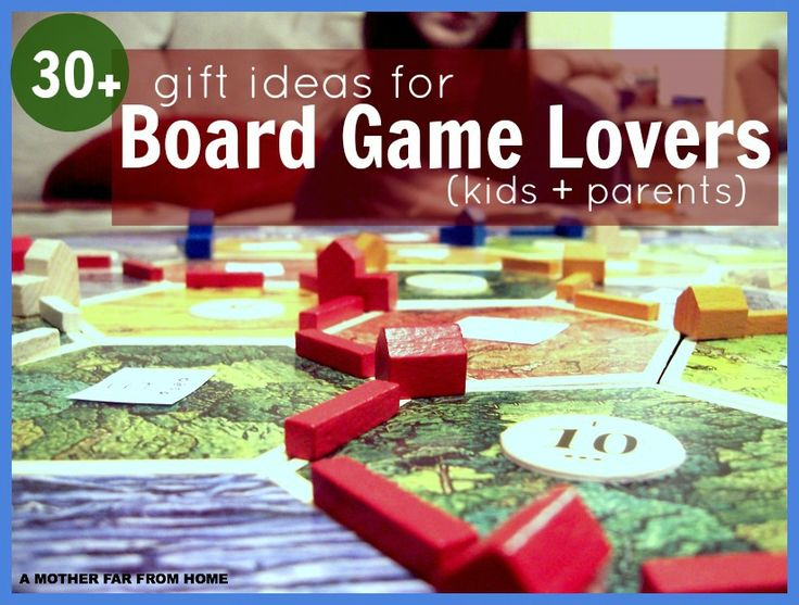 30+ of the best family board games for all ages. From classic board games to strategic board games, as well as games for children 3+ to the grandparents of the bunch :)