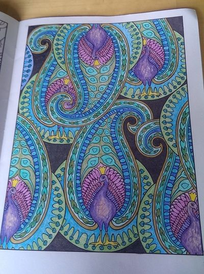 Paisley coloring patterns. Blog Posts - Infinite Health: Mindfully Nourish Yourself