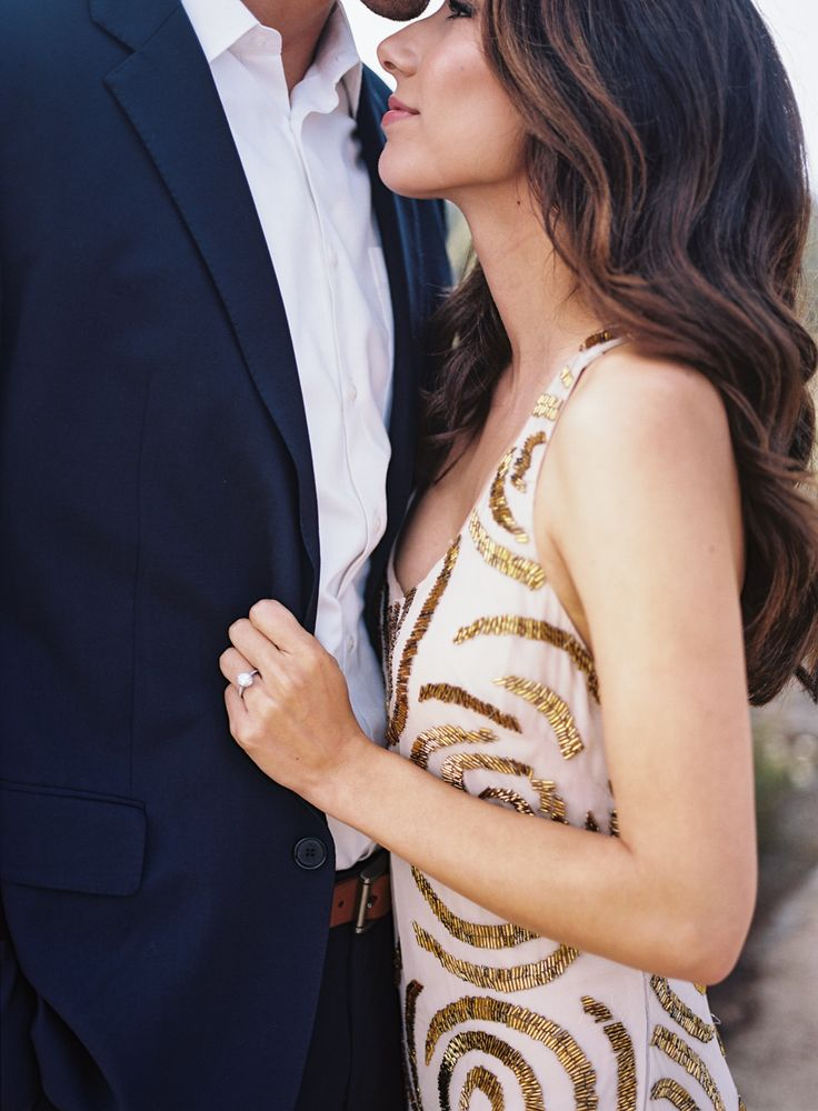 9 Conversations You Should Have Before You Get Engaged: http://www.stylemepretty.com/collection/3339/