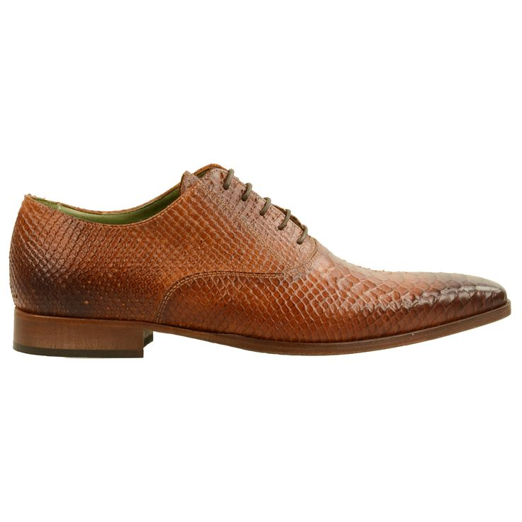 Formal shoes with croco print - Nette schoenen met croco print