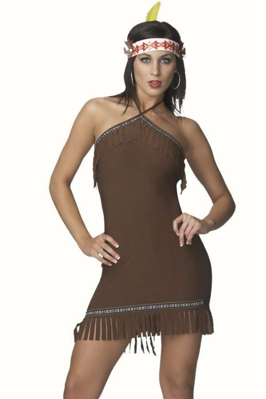 Native Girl Sexy Adult Costume,$44.99