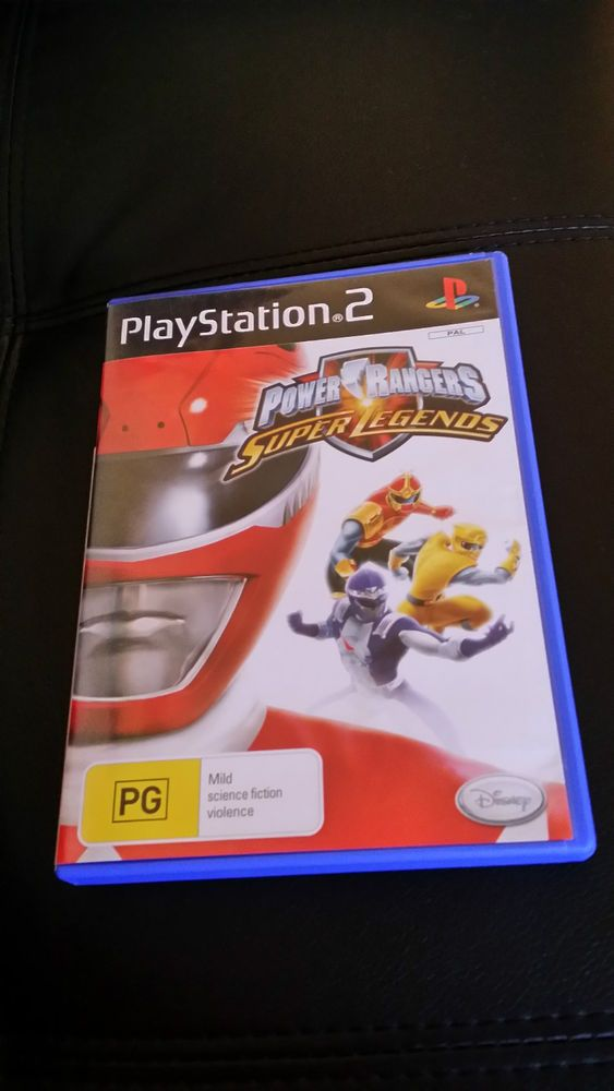 Power rangers ps2 game - PlayStation 2 -  FREE Fast Postage Aussie Seller