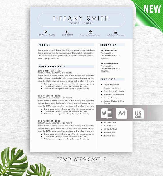 Πάνω από 25 κορυφαίες ιδέες για Teacher resume template στο - teacher resume