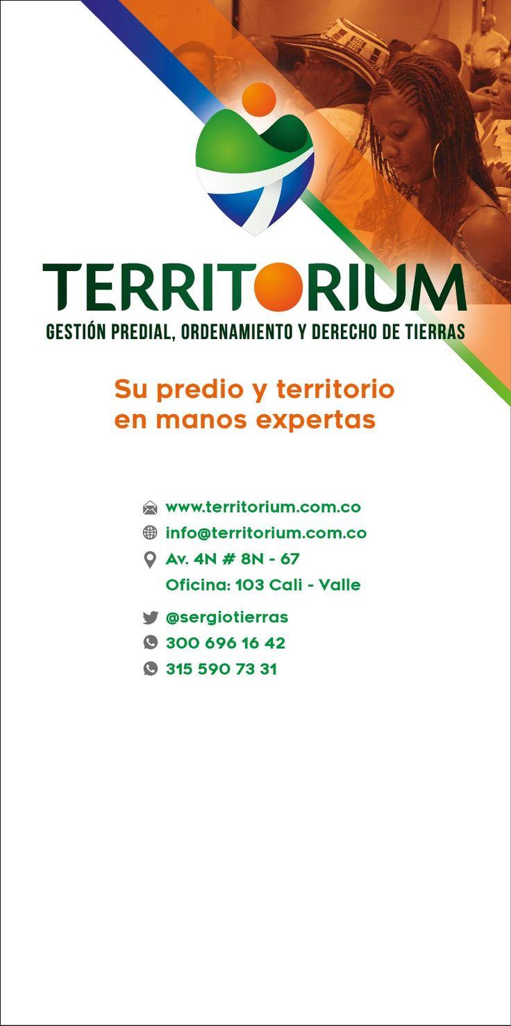 Diseño de pendón para Territorium #design #graphicdesign