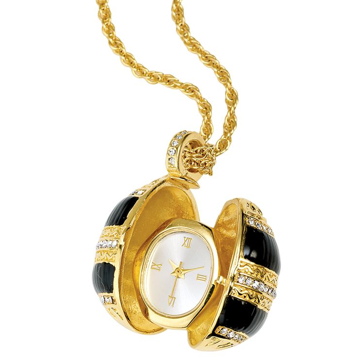 Russian Imperial Egg Pendant Watch - Women's Watches - Watches - The Met Store