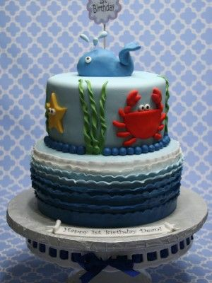 17 Best Images About Cakes Ocean Sea Creatures On