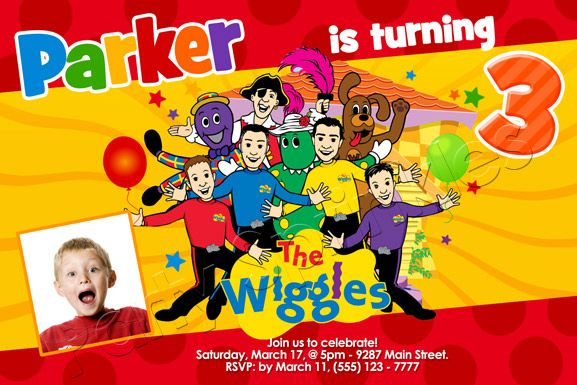 The Wiggles Invite