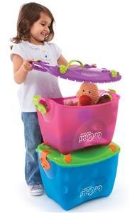 Lekekasse Toybox 25L Rosa, 179,-  Perfekt til barnerommet!