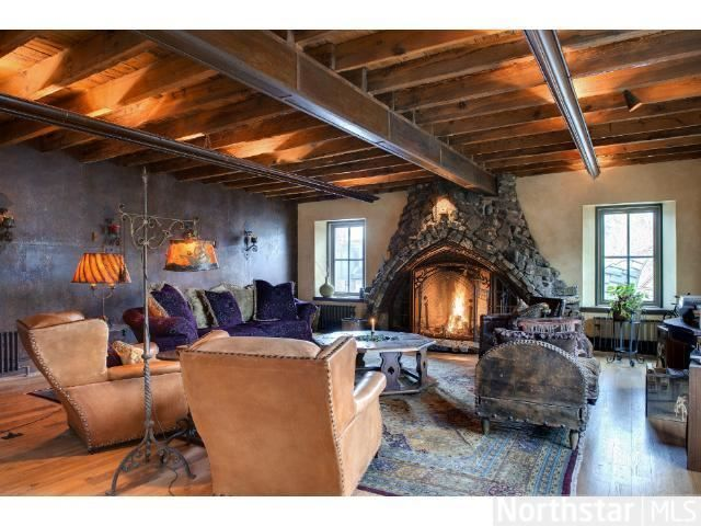 The most beautiful fireplace we've ever seen! Minneapolis, MN Coldwell  Banker Burnet   Cozy Fireplaces   Pinterest   Minneapolis, Cozy fireplace  and Fire ...