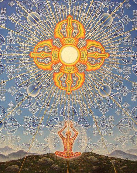 Invocation and Prayer ☽ Navigating the Mystery ☽ Alex Gray, artist