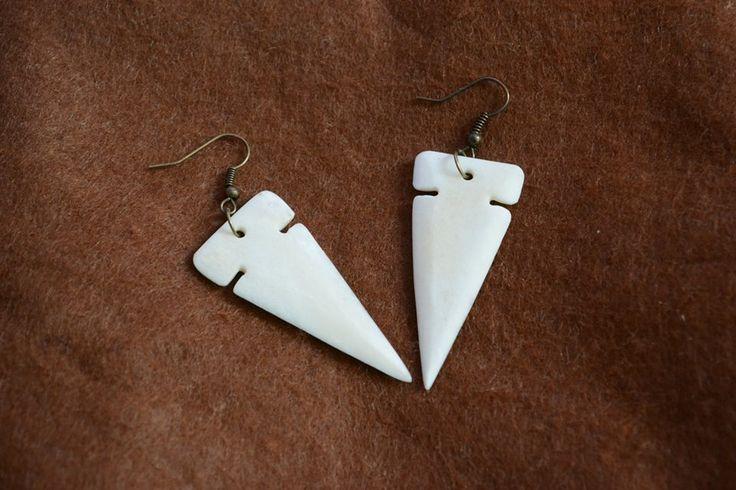Arrow tipped earrings.