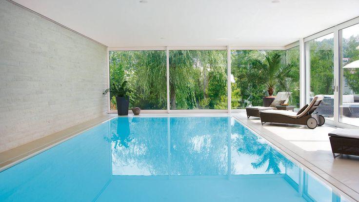 85 best private schwimmhallen neubau images on pinterest neubau privat und schwimmhalle - Innenpool bauen ...
