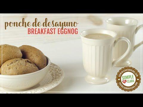 Ponche de Huevo y Café para el Desayuno - Receta & Video