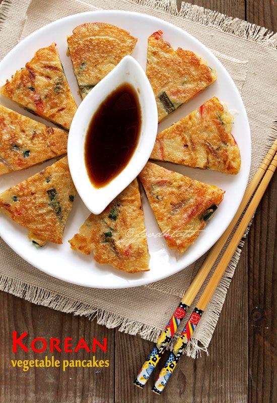 pancake, pajeon, pajun, Korean pancake, vegetable pancake, savoury pancakes, toddler, food 4 tots