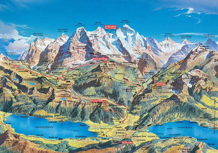Switzerland. Love this map - shows al he different areas I went to in Switzerland. The Bike epic mountain bike ride, Jungfrau. 2008
