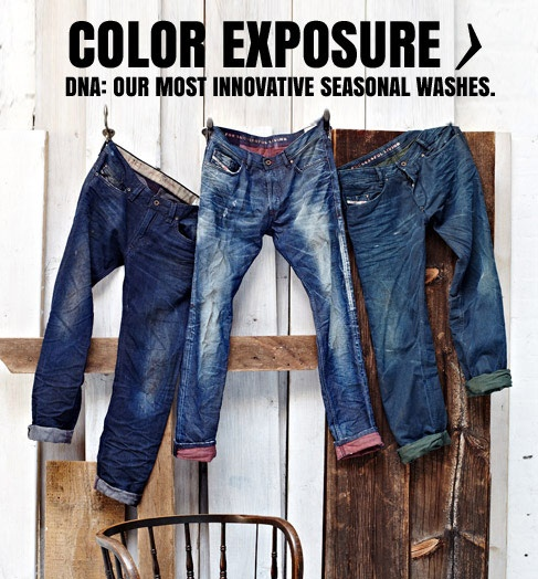 Diesel Colour Exposure - in store now