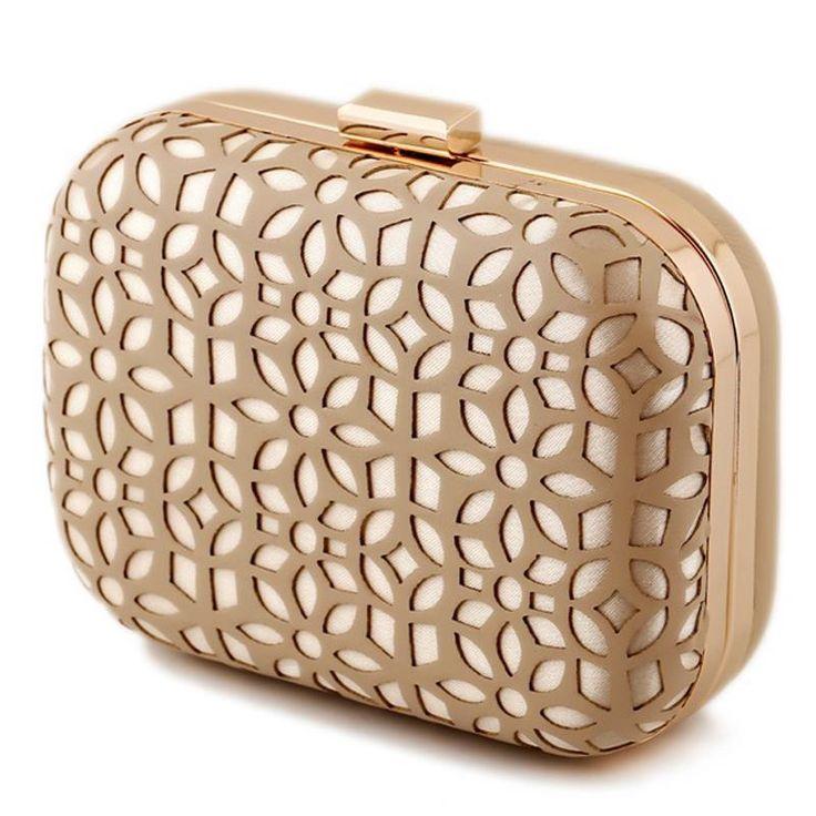 Hollow Out Pu Clutch Evening Bag Diamonds Clutches  Shoulder Bag For Wedding/Dating/ Purse Bag SMS - F A S H I O N http://www.sms.hr/products/hollow-out-pu-clutch-evening-bag-diamonds-clutches-shoulder-bag-for-weddingdating-purse-bag/ US $14.40