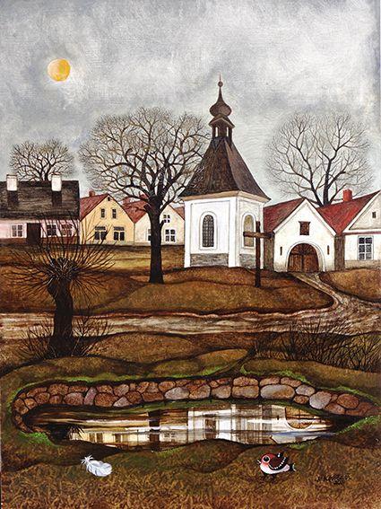Naděžda Kotrčová, kalendář ART NAIVE 2016