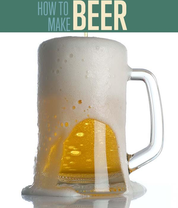 How to Make Beer | Home brewing instructions you can know. Something you can boast to your friends. #DiyReady www.diyready.com