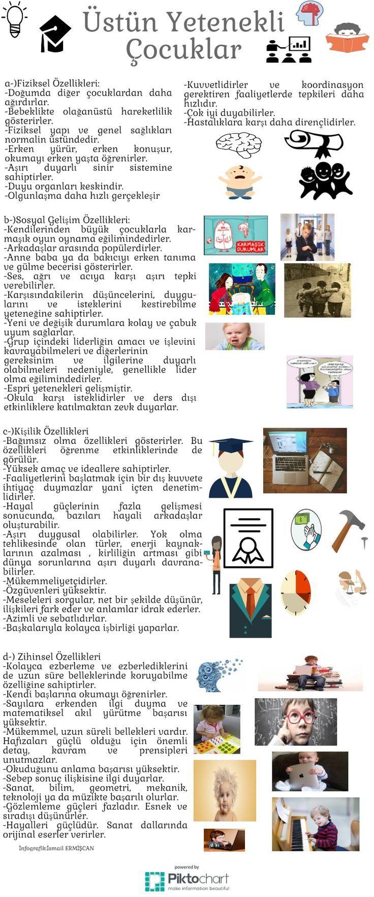 Üstün Yetenekli Çocuklar | Piktochart Infographic Editor [] #<br/> # #Infographic<br/>