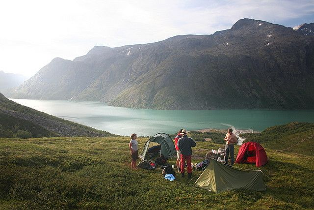 wild camping in jotunheimen, norway. I want to be there right now!