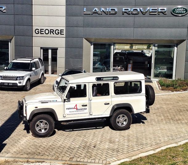 @LandRover #Defender at a meeting with our friends @LandRover #George in the #SouthernCape