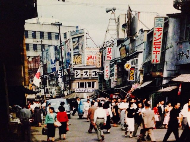 1950年代  東京銀座, Tokyo