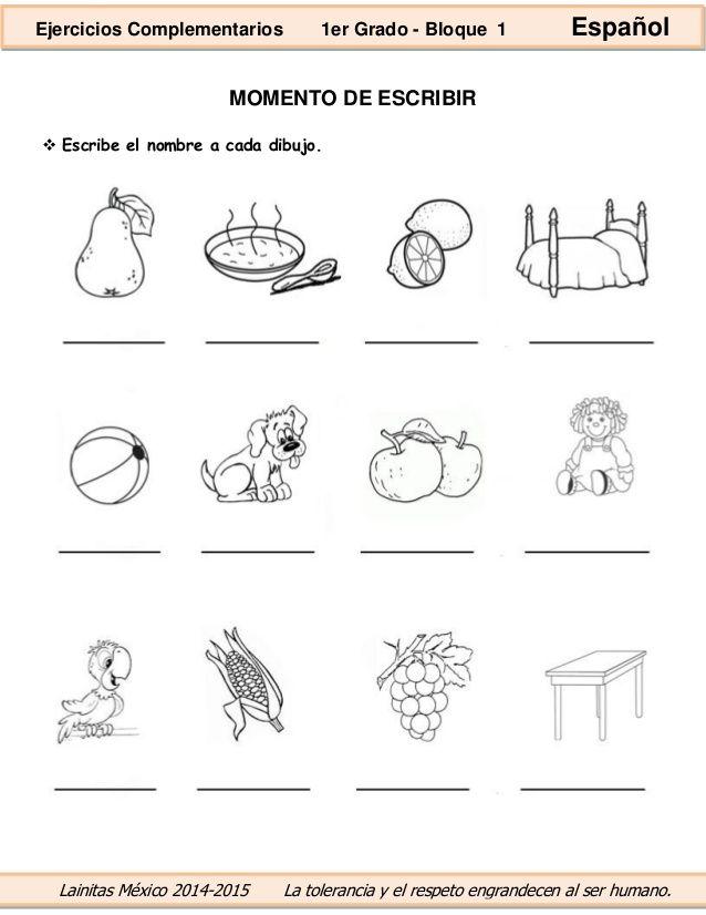 Resultado De Imagen Para Dibujos Infantiles Para Escribir El Nombre