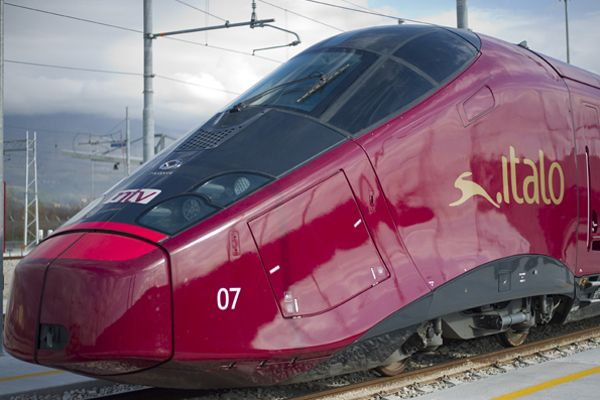 AGV Italo, touted to be the most modern train in Europe, has a maximum operational speed of 360kmph.