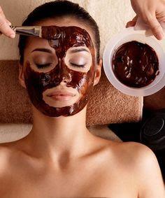 Chocolate facial treatment
