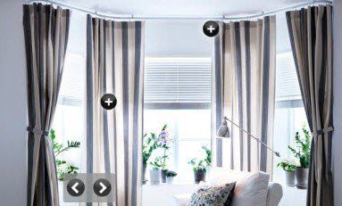 Hang Curtains from Ceiling or Below Border? | Hang ...
