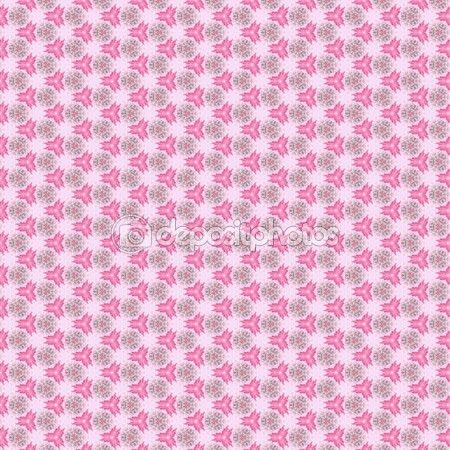 Decorative abstract and lacy pattern, on the pink