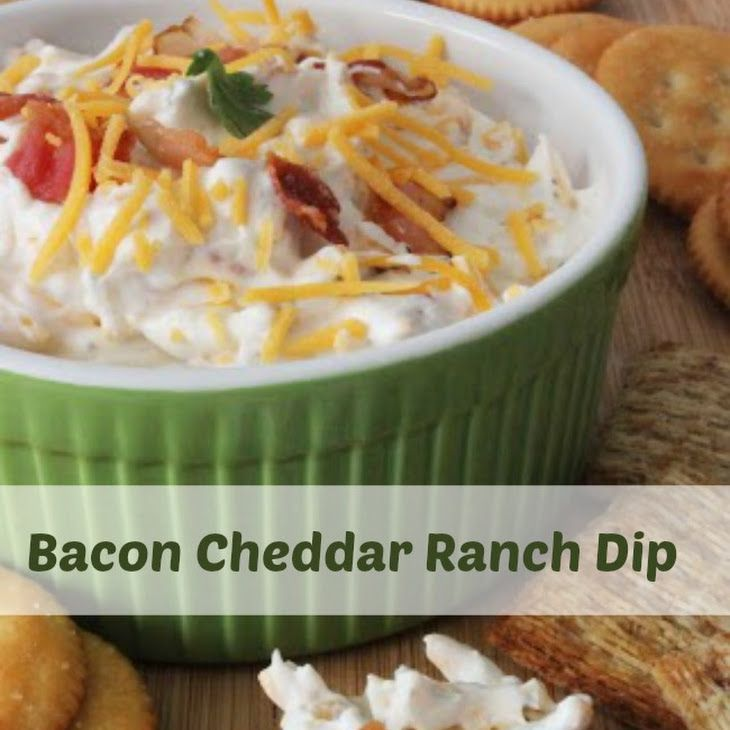 news bacon cheddar ranch dip